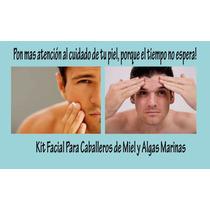 Kit Facial Miel Y Algas Marinas Exclusivo Para Caballeros