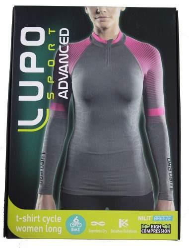 4d4919391c Camisa Manga Longa Ciclismo Feminina Lupo - R  159
