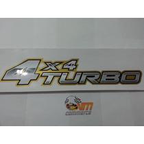 Emblema Adesivo 4x4 Turbo Hilux Toyota