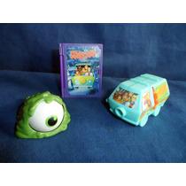 Lote Brindes Promocionais Mc Donalds Coleção Scooby Doo 2014
