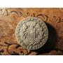 Antigua Moneda Plata Chile Dos Real 1847 Rompiendo Cadenas