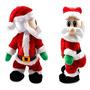 Decoración Navidad Santa Claus Figura Cadera Torcida Del Ca