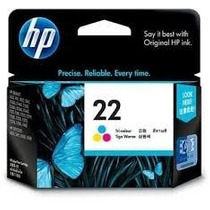 Cartucho Hp 22 Tricolor. 100% Original En Oferta