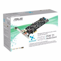 Placa De Sonido Asus Xonar Dsx 7.1 Dolby Digital Pci Express