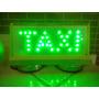 Bigorrilho Led Taxi Com Ímã Rio De Janeiro Luminoso Taxi Rj