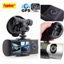 Camera Filmadora Digital Veicular Dual R300 Tacografo Gps