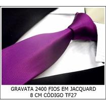 Gravata Em Jacquard 1400 Fios Atacado E Varejo.