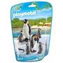 Playmobil 6649 Familia D Pinguinos Animal Zoologico Retromex
