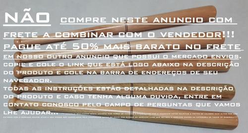 d3f5b5736 Taco De Baseball (beisebol) Madeira Maciça Bastão Top Demais - R  41 ...