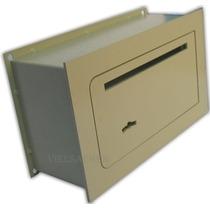 Caja Fuerte De Seguridad Para Amurar 25x15x9cm **con Buzon**