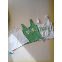 3 Blusas Para El Gym Brasileñas Talla G Originales