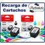 Recarga Cartucho Canon Impresora Mg 2410 2510 2810 2910 3110