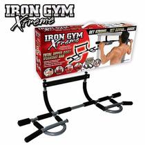 Barra De Ejercicios 5 En 1 Flexiones Iron Gym Xtreme Puerta