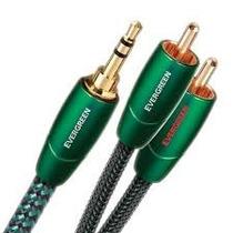 Cable Audioquest Evergreen Rca Miniplug 1 M