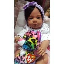 Bebê Reborn Mel Linda Real Baby Kelly Lemos Promoção