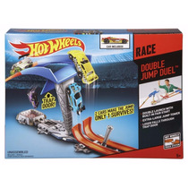 Pista Hotweels Doble Salto Desafio Original De Mattel
