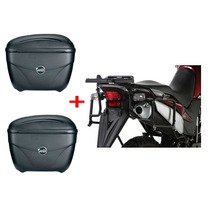 Suporte Lateral Xre 300 Givi Monokey + Par Bau Givi E21n