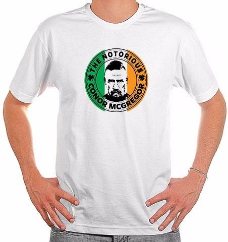 b397fb8a0 Camiseta Conor Mcgregor - Notorious Ufc Luta Bjj Muay Thai - R  34 ...