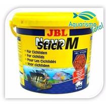 Ração Jbl Novo Stick M 2,350kg Para Peixes Carnívoros