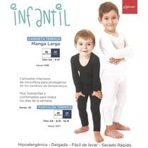Pantalón Termico De Niños Y Niñas Tallas 4 A 14 Años +regalo