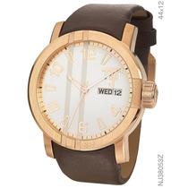 Relógio Neymar Jr Nj38053z Dourado Rose