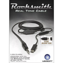 Rocksmith Real Tone Cable Ps4 Xbox One 360 Ps3 Pc Mac Cabo