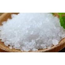 1kg. Sal De Mar Grano Sin Yodo Uso Alimenticio,cosmético,pez