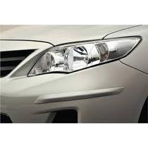 Kit Friso Protetor Parachoque Toyota Corolla 12/14 Preto