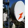 Antena Blindada 5458-28-dp Com Radome 5.8 Azlink Pro Dupla