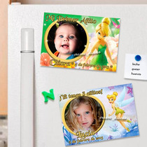Tinker Bell Campanita Cumpleaños - 10 Souvenirs Imanes