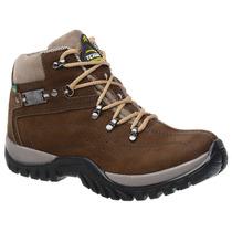 Coturno Bota Adventure Tchwm Shoes Em Couro Nobuck Oliva