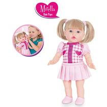 Boneca Mirella Bate Papo Cotiplás + Celular Brinquedo