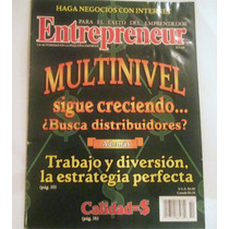 Revista Entrepreneur, Multinivel Sigue Creciendo
