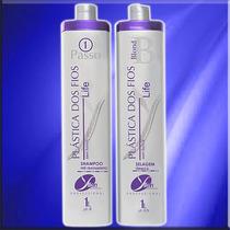Cabelo Loiro -cabelos 100% Liso - Progressiva Blond - 2x1