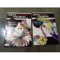 Dos Libros Para Colorear Mandalas Y Dibujos Fascinantes