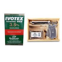 Ivotex La Gado Bezerro Girolando Bovinos+seringa Vet.brinde
