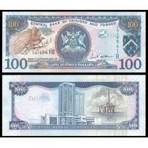Trinidad Y Tobago Billete 100 Dólares Año 2006 Sin Circular