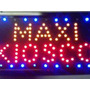 Cartel De Led Maxi Kiosco