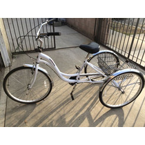 Triciclo Tricicleta Para Adulto Kent Modelo Alameda Aluminio