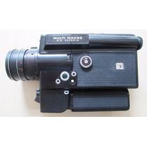 B3131 Filmadora Cinemax Super 8 Multi Macro 812 Não Funciona