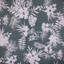 Flores Tropicales Gris (Polilycra)