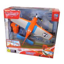 Avión Dusty Charge N Fly Planes Vuela Con Lanzador Disney