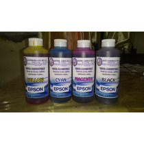 Tinta Vegetal Comestible Epson Hp 120ml