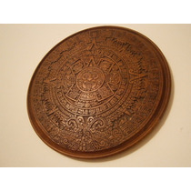 Calendario Azteca Tallado En Algarrobo