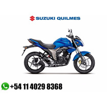 Suzuki Gixxer Gsx 150 Con Tarjetas En 12 X $ 4290 + Patente