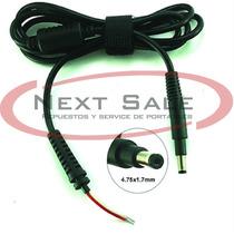 Ficha Plug Macho Con Cable Hp Envy Dell Ultrabook Zona Norte