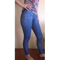 Calza Leggins Estampadas Mk Select 2017 Marcela Koury