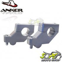 Riser Anker Para Guidão ( 22 Mm ) 7/8 Prata Dl V Strom 650