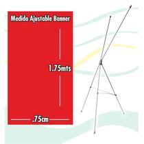 Display Porta Banner Lona 1.80cms X 80cms Ajustable
