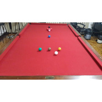 Mesa De Snooker Oficial Taco De Ouro Anos 40/50